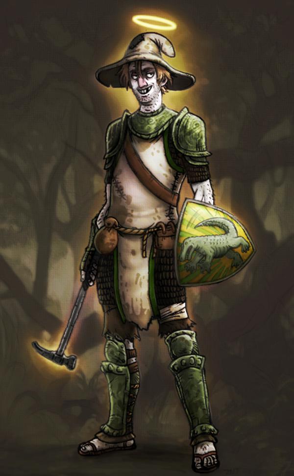 Zeke Gatorbang, Cleric by zachjacobs