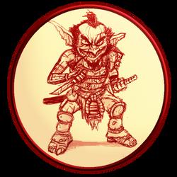 Roll20 Token, Goblin Rogue