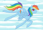 Rainbow dash- 20% cooler