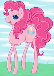 Pinkamena Pinkie pie by Chao-Illustrations