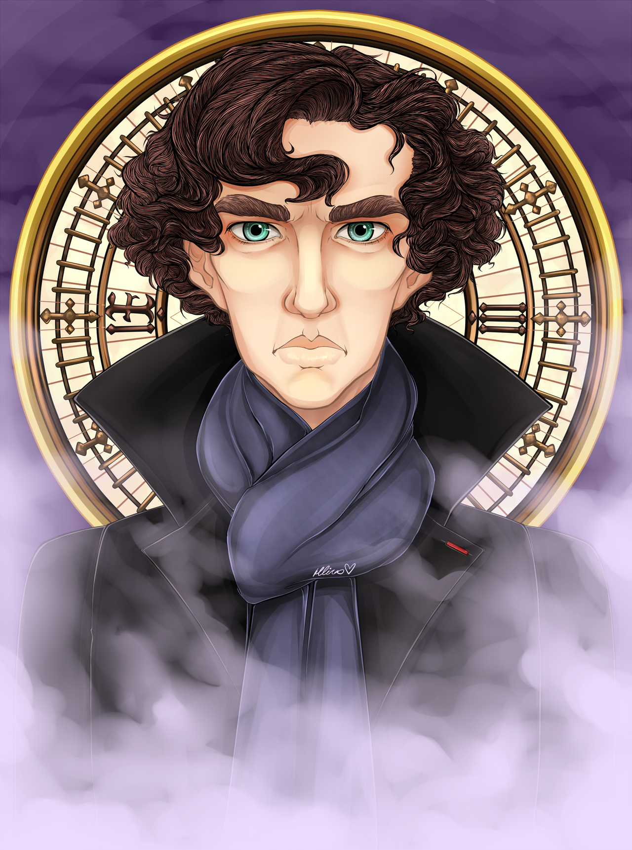 I AM SHERLOCKED by Chao-Illustrations