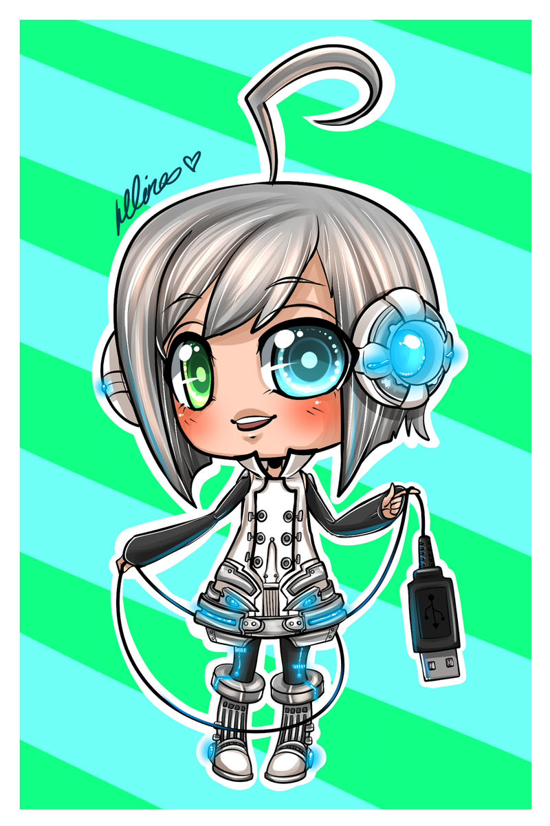 Piko desu by Chao-Illustrations