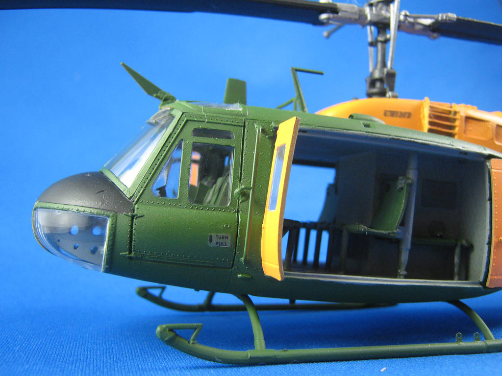 1/48 Scale UH-1D Huey (cockpit sort of) by Coffeebean2