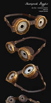 Steampunk Goggles - Finished