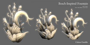 Bosch-Inspired Fountain