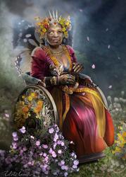 The Faerie Queene by SandboxAlchemy