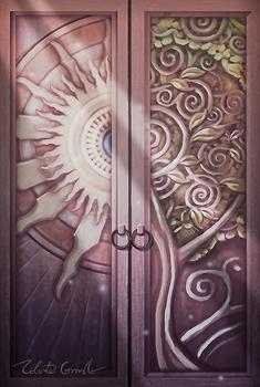 Puppet Theatre Doors