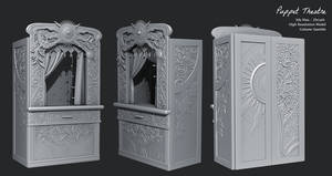 Puppet Theatre - High Resolution Sculpt