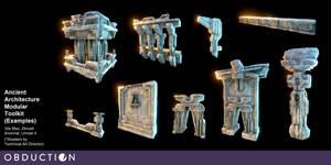 Kaptar - Ancient Architecture Modular Toolkit