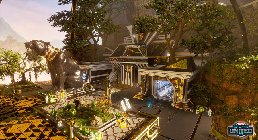 Marvel Powers United VR - Wakanda Lab Facade B
