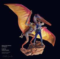 Master Pilot Earhart, Skybax, Dimorphodon 1