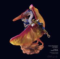 Master Pilot Earhart, Skybax, Dimorphodon 2