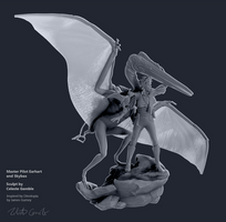 Master Pilot Earhart, Skybax, Dimorphodon 4