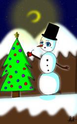 For angel-c-ker Christmas contest by Madoka-Neko