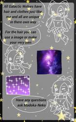 Galactic Wolves traits 2 by Madoka-Neko