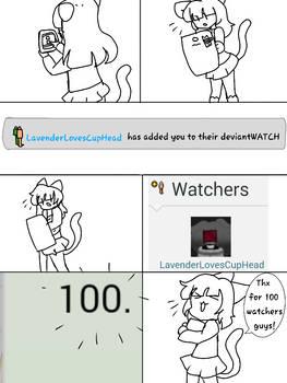 100 watchers