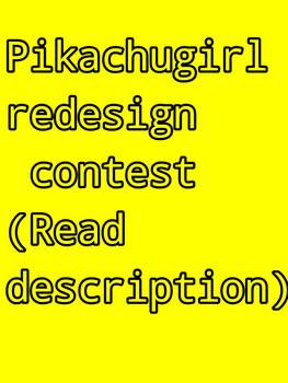 Pikachugirl redesign contest