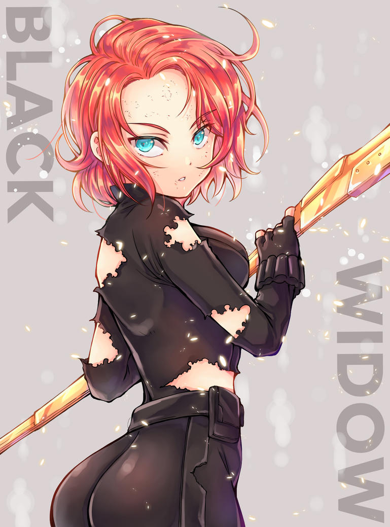 Black Widow By Anubis0055 On Deviantart