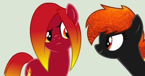 MLP Collab: Wassup Fire Dude? by MLP-Blue-Bases
