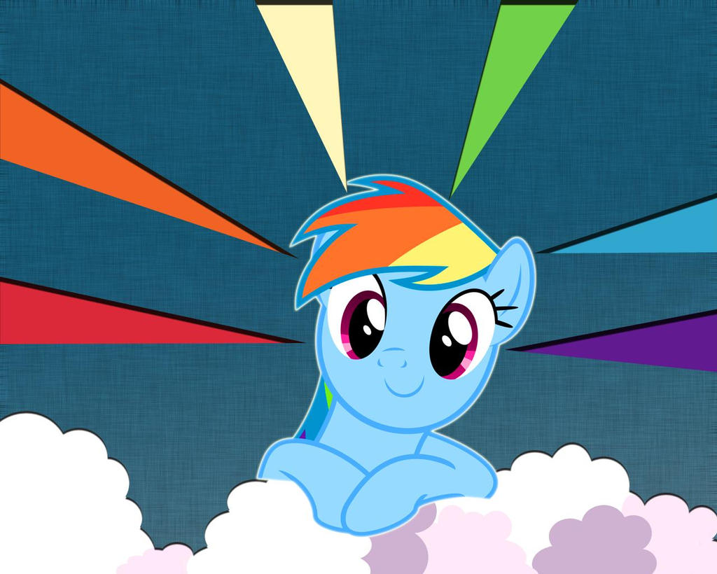 My Little Pony Rainbow Dash Wallpaper By Thedoctorspy On Deviantart