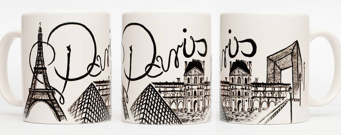 Paris Mug by smist