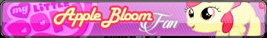 Fan button Commission | Apple Bloom