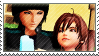 Static stamp Commission | Sky and Verica by SnowEmbrace