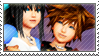 Static stamp Commission | Marina and Sora by SnowEmbrace