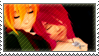 Static stamp Commission | Haru and Ruri by SnowEmbrace