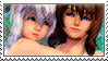 Static stamp Commission | Catrina and Yue by SnowEmbrace