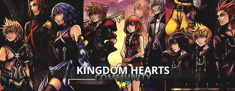Kingdom Hearts 3 boxart header by SnowEmbrace