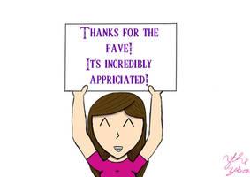 Thank you! by ZeeTheZebra