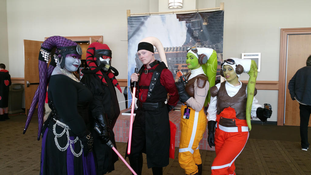 Twi'lek Group BCTC 2017 by ShadowRealmCosplay
