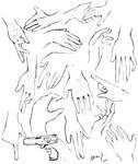 Hands sketches