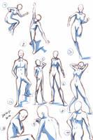 Quick Poses by keishajl