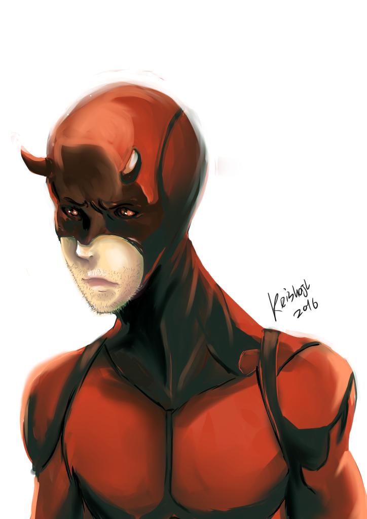 Daredevil- manga version by keishajl
