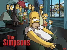 The Simpsons by KizzKats