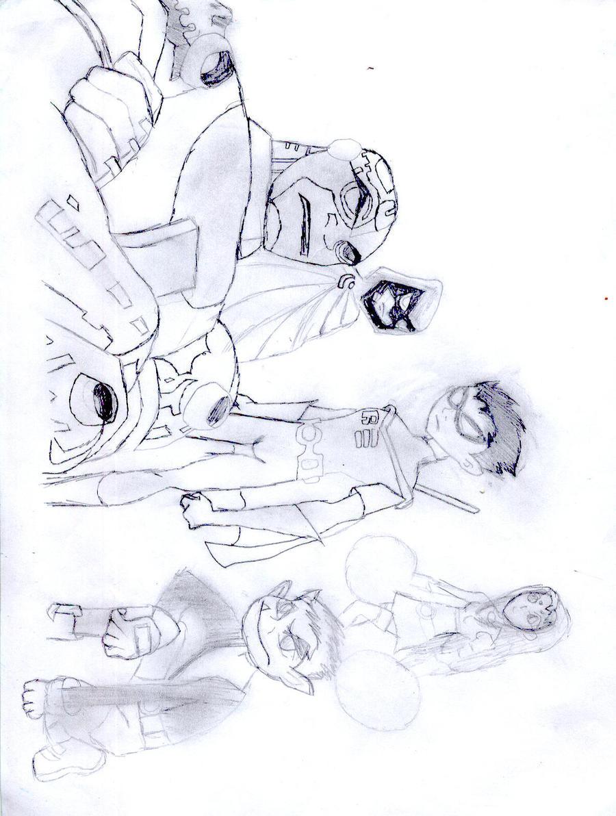 los jovenes titanes by hermit16 d2za3ui Titanes gay hombres desnudos (fotos de casa mexico titanes)