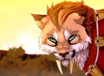Cougar Nidalee - Speedpaint! by Karaikou