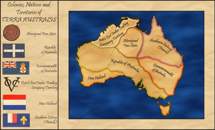 Map Of Australia 1880.Australia Alt History Map Circa 1880 By Whitetower Exe On Deviantart