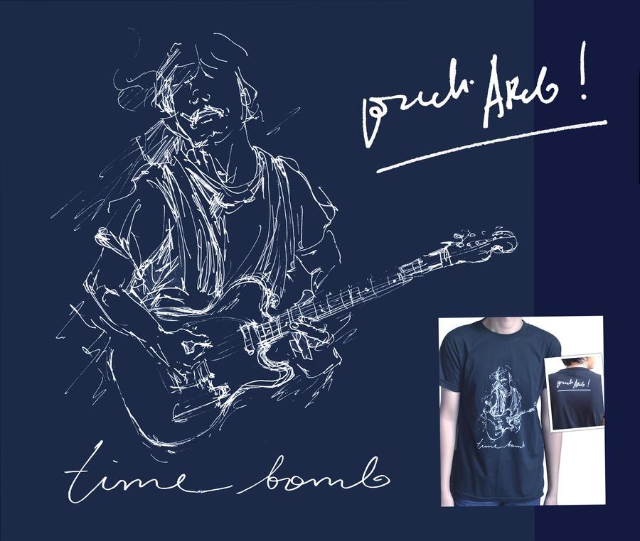 Time Bomb Blues' T-Shirt by prab-prab