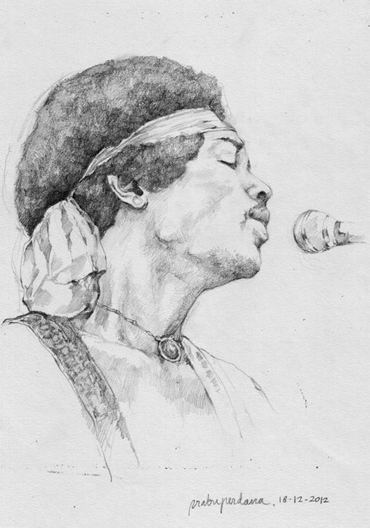 Hendrix by prab-prab