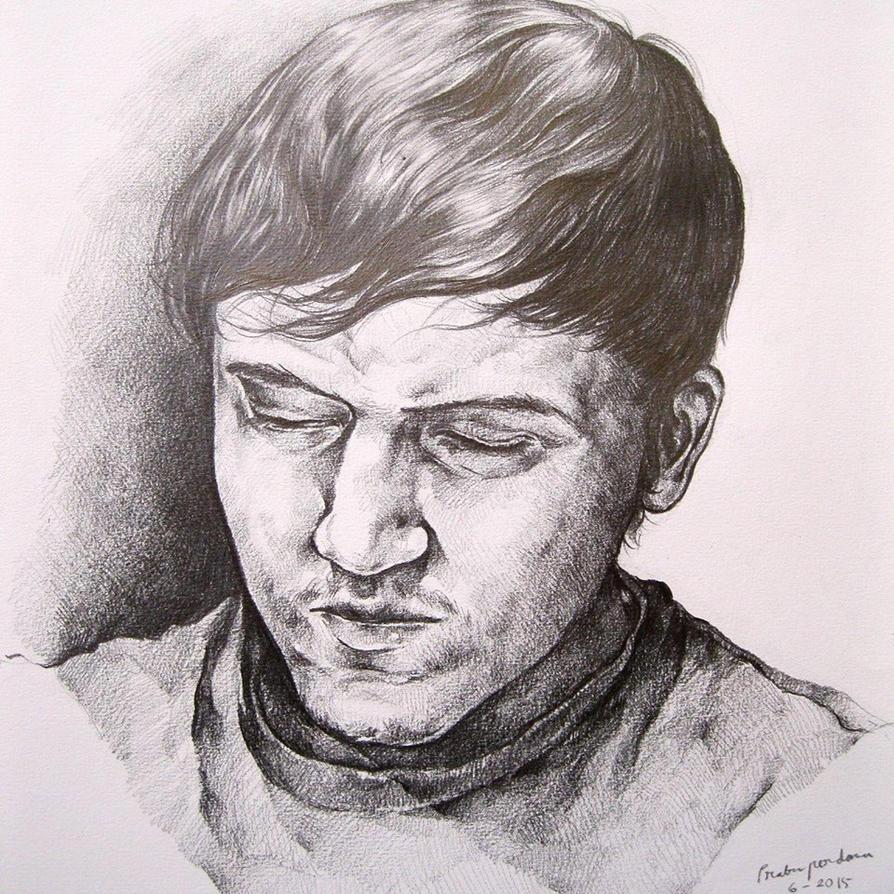 Portrait Of Sirom by prab-prab