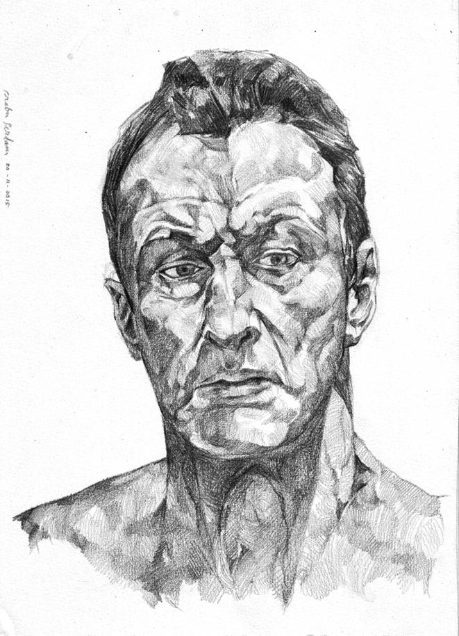 Lucian Freud by prab-prab