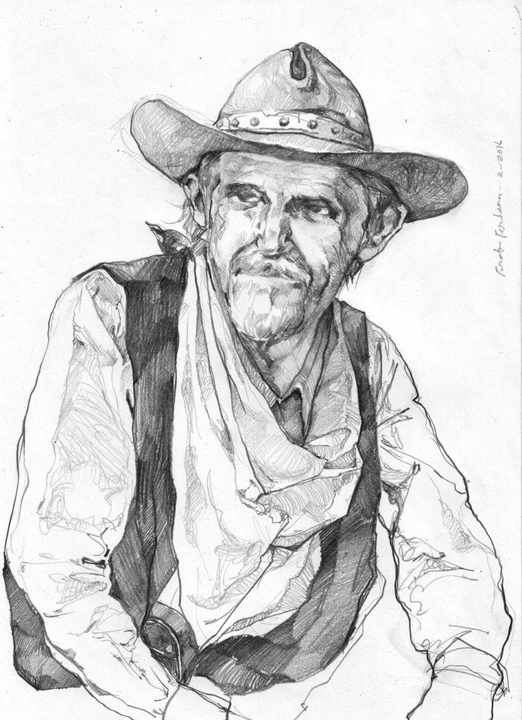 Old Cowboy by prab-prab