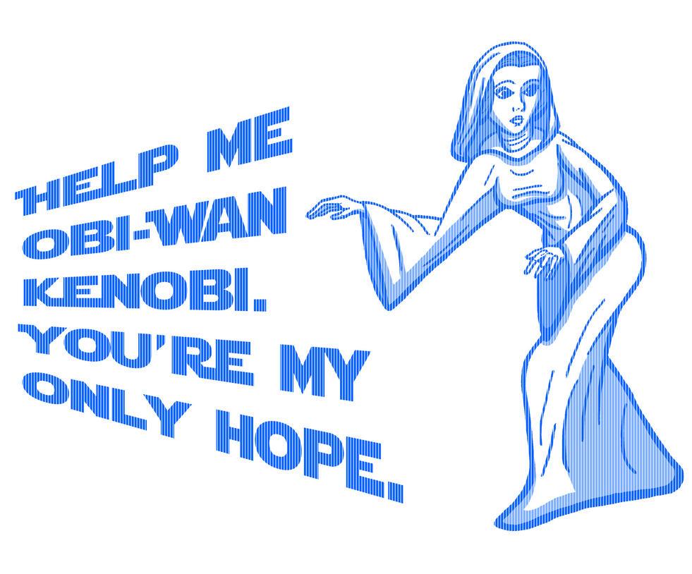 Help Me Obi-Wan by JeanPaulRobin
