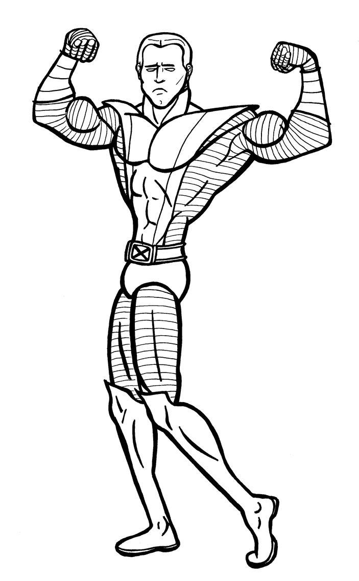 Colossus Sketck by JeanPaulRobin