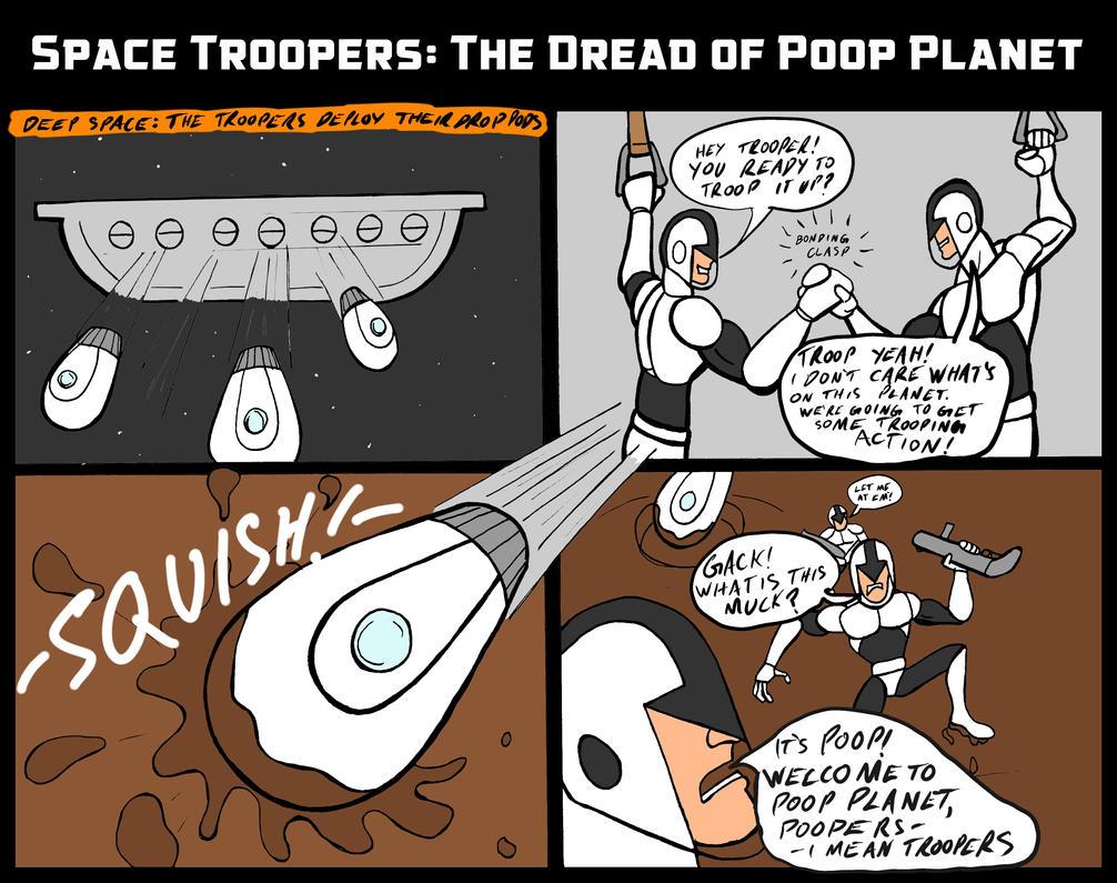 Space Troopers 001 by JeanPaulRobin