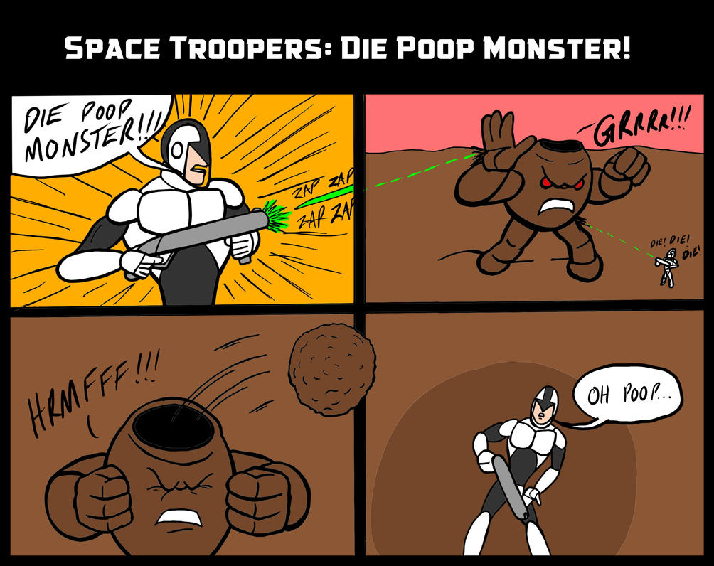 Space Troopers 002 by JeanPaulRobin