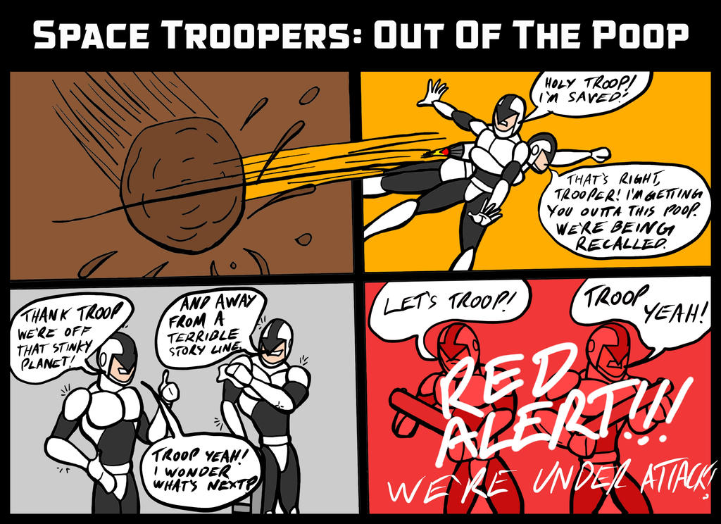 Space Troopers 003 by JeanPaulRobin